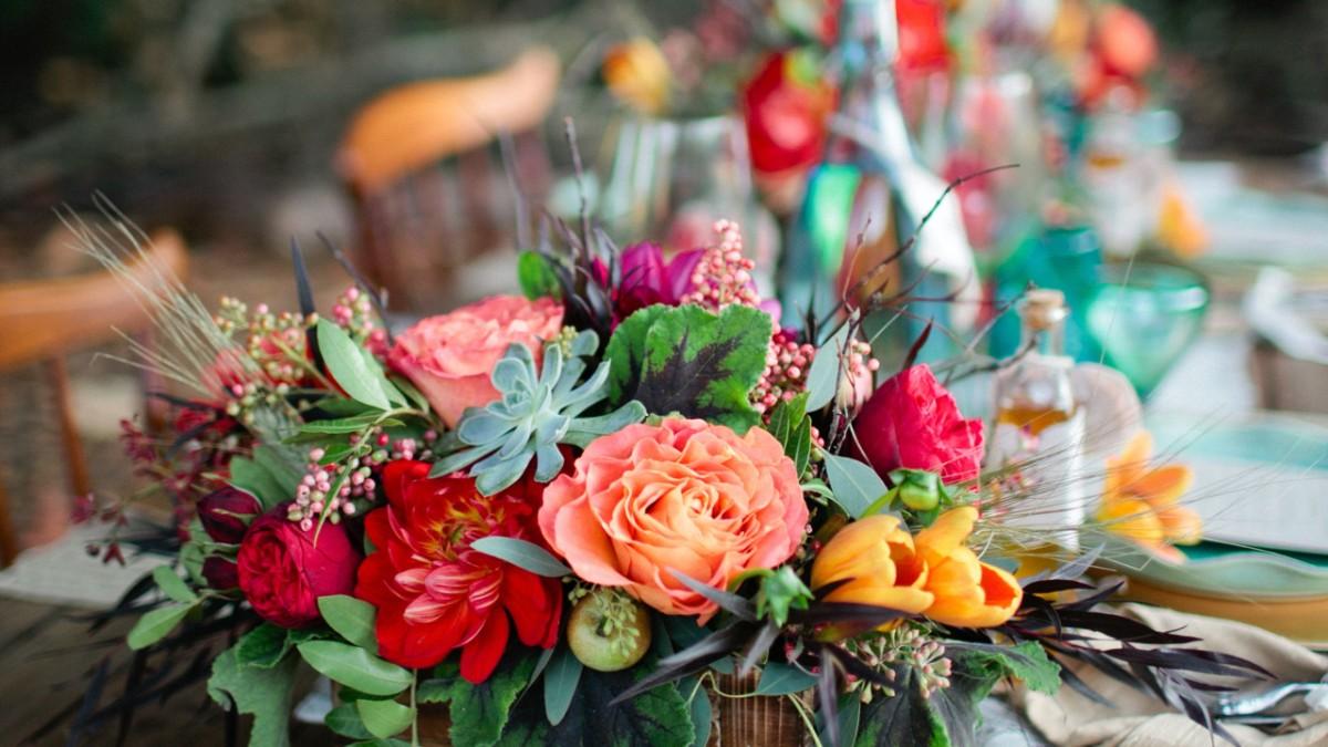 L ethnique chic la tendance que vous allez adorer en 2018 1805 le clos des mari s - Decoration mariage traditionnel ...